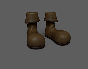 Pirate Boots - Old Dirty 3D asset realtime