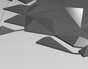 world map 3d model minimalistical