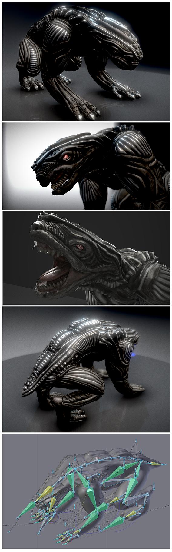 Alien Animal Design