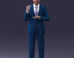 color Man in coat 0513 3D Print Ready