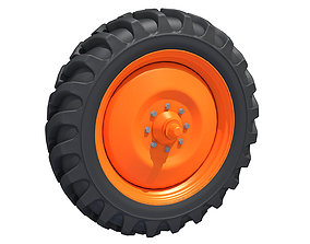 3D model mud Off Road Tyre