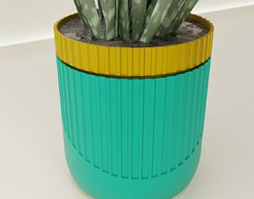 Self-Watering Planter 60 3D print model