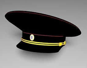 3D Russian police hat