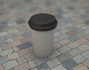 3D asset Plastic Coffee Cup