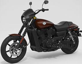 Harley-Davidson Street 500 2017 3D