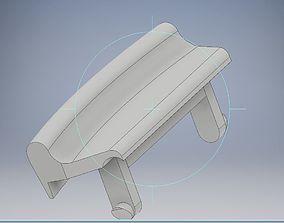 3D print model Opel Astra H armrest lock