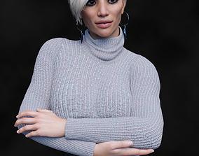 Blanchefleur for Genesis 8 female 3D model