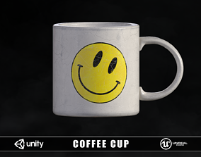 3D asset game-ready Coffee Cup