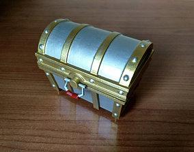 3D printable model Zelda Treasure chest and Cartridge