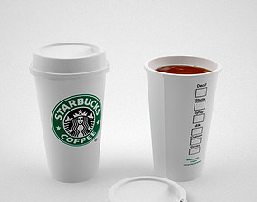 3D model Starbuck Coffee cup
