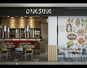 Dimsum Restaurant 3D model