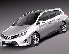 3D model Toyota Auris 2013 Touring Sports