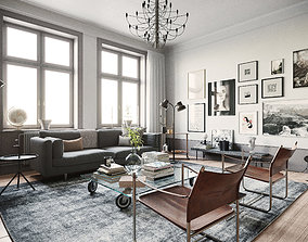 Stockholm Interior scene 3D model