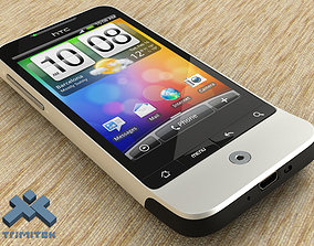 3D HTC Legend smartphone - 2010