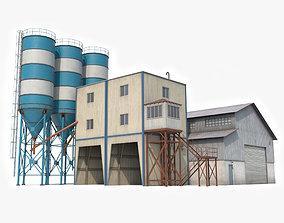 Cement Plant 3D model