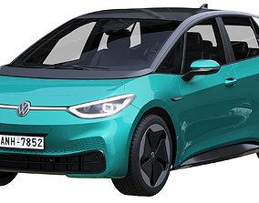 3D Volkswagen ID3