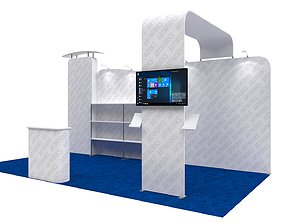 exhibition Exhibition booth 10x20ft 3DM013