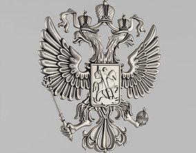 3D printable model The emblem of Russia