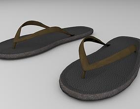 Flip Flops 3D Model fashion-and-beauty