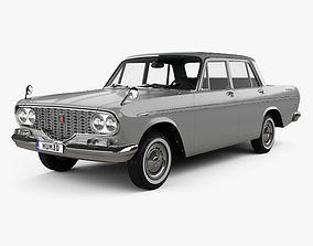 3D model Toyota Crown 1962