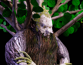 3D asset Ent - Drzewiec