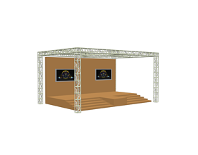 stage 3d model interior other