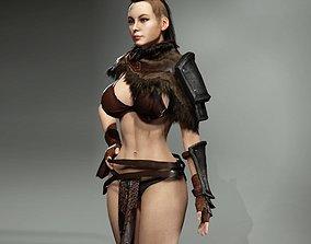 Viking Woman 3D model