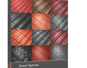 3D DOSCH Textures - Roof Tiles
