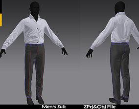 Business suit Marvelous Desigher project 3D
