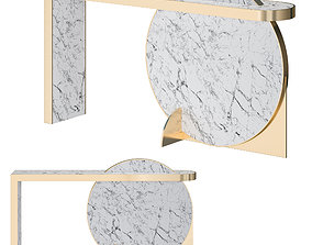 3D Lapicida Collision Console Table
