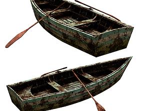 Boat Skiff 3D model