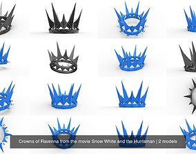 3D Crowns of Ravenna from the movie Snow White and the