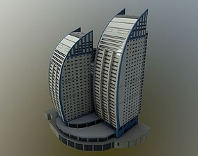 3D model Scarlet Sails - Volga Sails building apartment