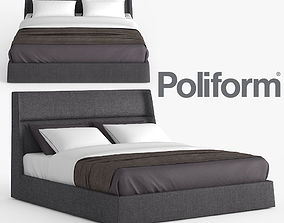 3D model Poliform Chloe Letto Bed