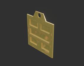 rgd kan trigram pendant mk2 3D print model