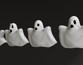 fantasy Cartoon Ghosts 3D