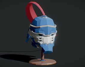 Fullmetal Alchemist Mask 3D asset