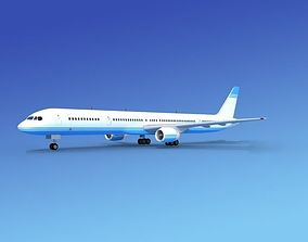 3D Boeing 757-300 Corporate 2