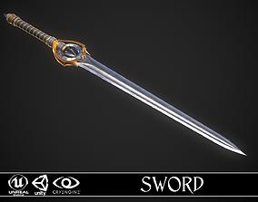 3D asset Sword A7