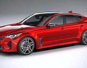 3D model Kia Stinger GT 2022