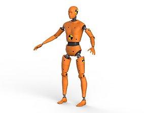 3D Crash Test Dummy Robot Android