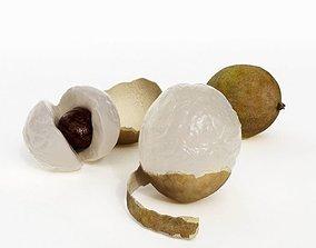 Edible Fruit From The Longan Tree 3D