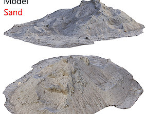 3D asset Ultra realistic Sand Scan