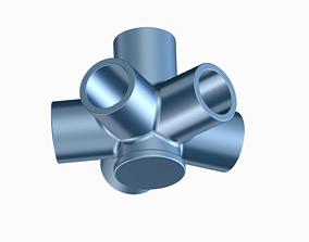 Innovative Pipe Fitting Type B 3D printable model