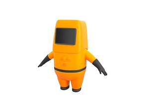 3D model Character092 Protective Suit