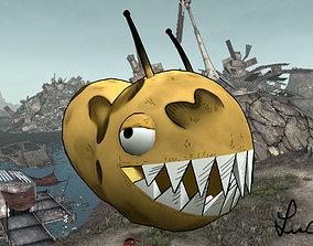 3D model Monster potato creature