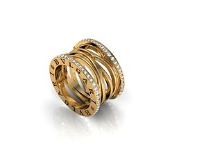 Bvlgari Zring 1 3D printable model