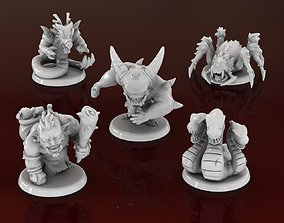 Action Figures Masmorra Board Game RPG 3D