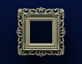 mirror in classic style 3D print model