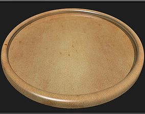 3D model Round Wooden Tray